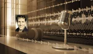 microphone-and-studio-background mug