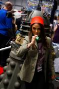JESSIE in her Dr. WHO fez