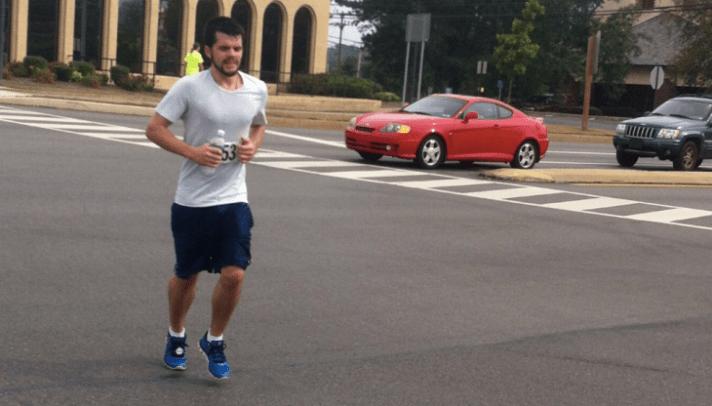 Running the Marathon (University Drive)