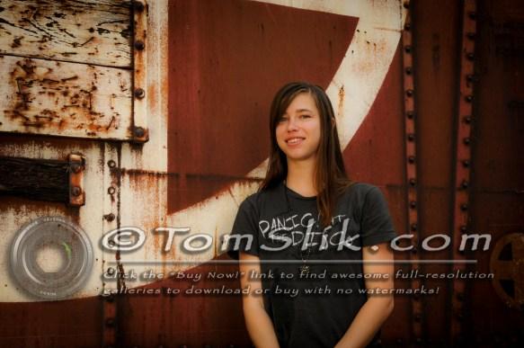 Brittaney lighting photo shoot Old Poway Park 0043