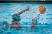 Taylor Water Polo Novice Tournament (vs Helix) 1-24-2015 0156