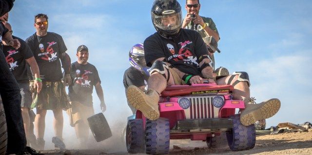 Extreme Barbie Jeep Race at King of the Hammers 2016!