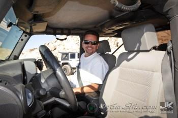RJ riding shotgun
