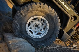 """My new set of 37"""" Nitto mud-grapplers aired down to 8-lbs; that will provide some traction, eh?"""