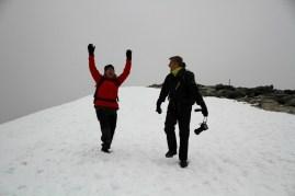 Conquered the peak