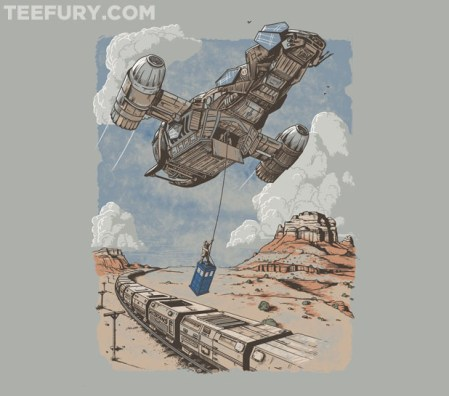 Firefly/Doctor Who T-shirt