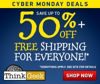 Thinkgeek Cyber Monday Sale