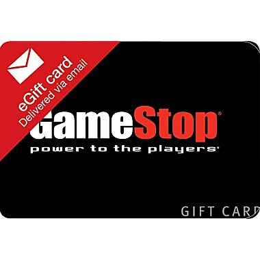 $25 Dollar Game Stop E-Gift Card Prize