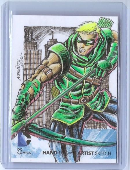 artist Dan Borgonos Green Arrow