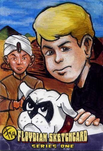 Jonny Quest art card