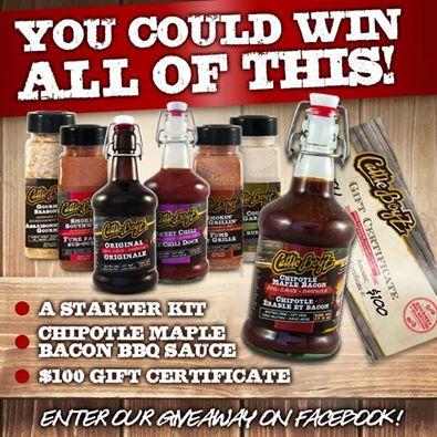 BBQ Sauce Giveaway