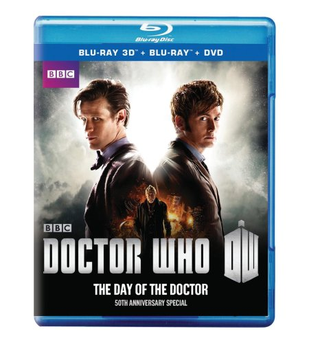 Doctor Who 50th Anniversary Blu-Ray