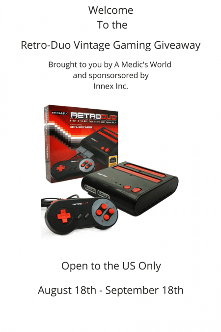 RetroDuo Video Game System Giveaway