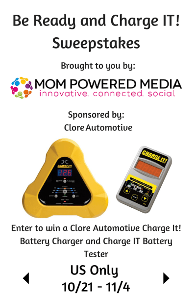 Clore Automotive Giveaway #charger #tester #battery