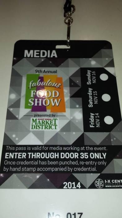 Fabulous Food Show #Cleveland #FoodShow #Food #IXcenter #Media #blogging