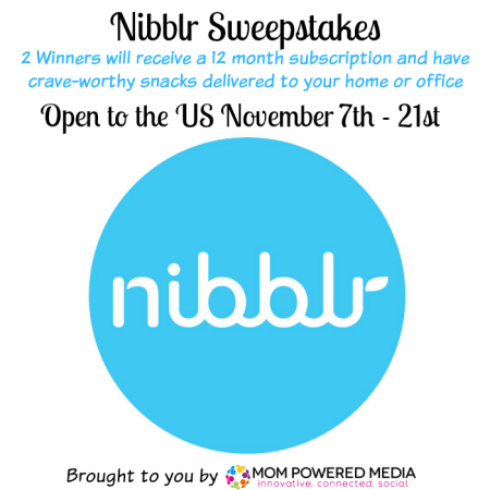 Nibbler Prize Pack Giveaway Sweepstakes