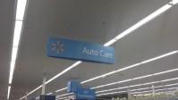 Walmart Auto Section