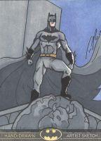 Sketch Card of Batman #batman #sketchcard #art