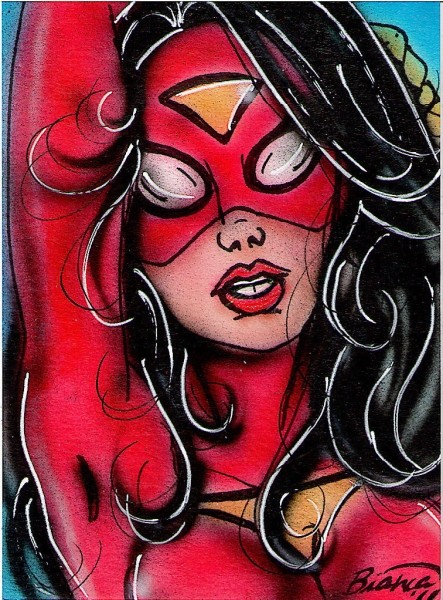 Sketch Card by Bianca Thompson