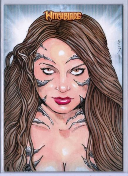 Witchblade drawn by Steven Miller