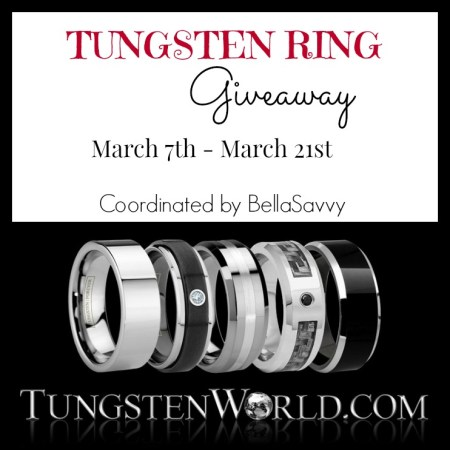 Tungsten Ring Giveaway