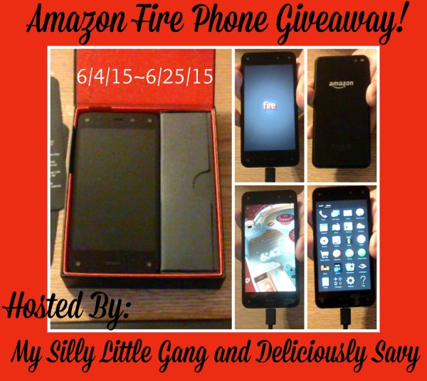 Amazon Fire Phone Giveaway - Enter for a chance to win this awesome gadget and start enjoying ebooks, apps, and music today.