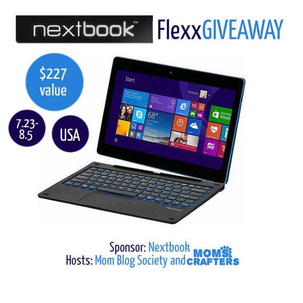 Nextbook Flexx Giveaway Ends 8/5 Good Luck from A Medic's World and remember to share my site! ~Tom
