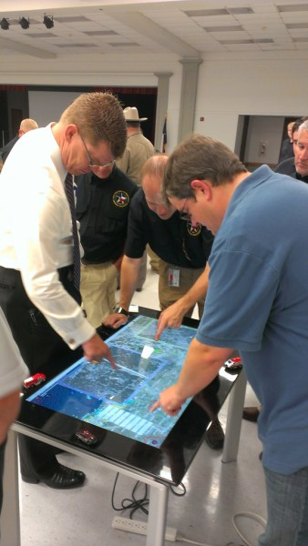 "mapping application that lets first responders quickly and easily ""see"" an emergency situation with a digital command center this will be great for EMS, Fire, and Police to engage emergency scenes more efficiently"