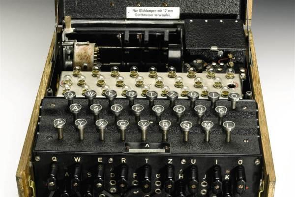 German Enigma Code Machine