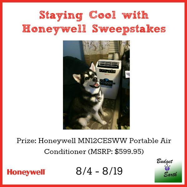 Staying Cool with Honeywell Sweepstakes Ends 8/19 Have a chance to win a portable Air Conditioner for your Home