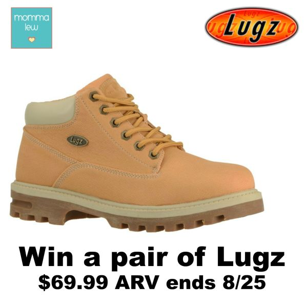 Win a Pair of Lugz Boots - Ends 8/25 #giveaway