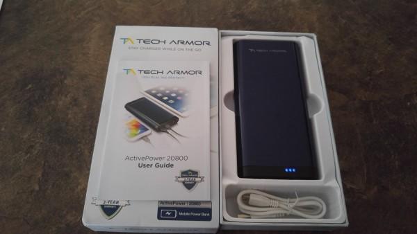Tech Armor ActivePower Mobile Power Bank Review