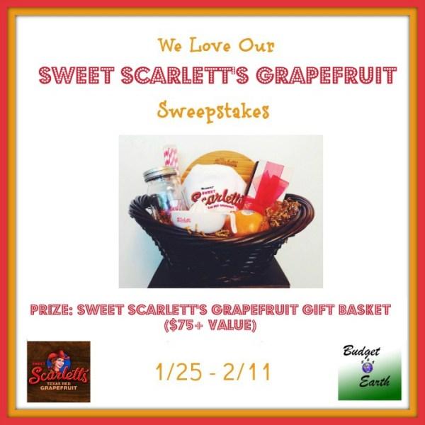 Sweet Scarletts Texas Red Grapefruit Gift Basket - Ends 2/11