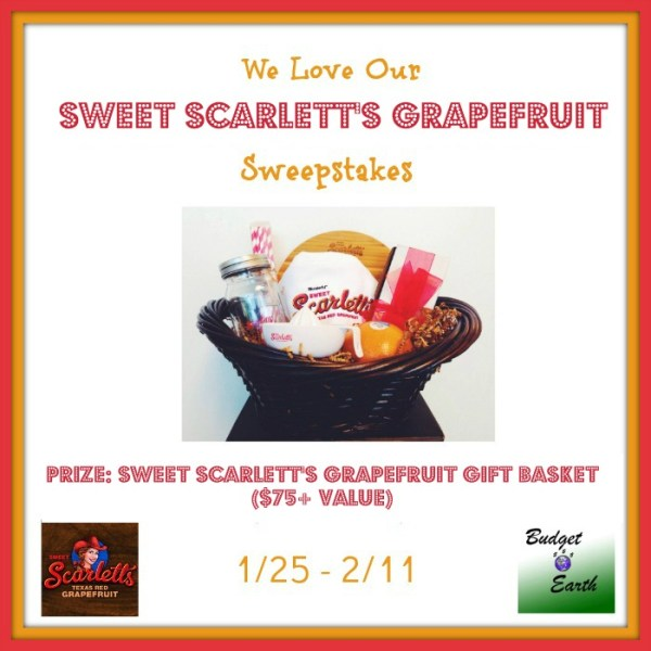 Sweet Scarletts Texas Red Grapefruit Gift Basket - Ends 2/11