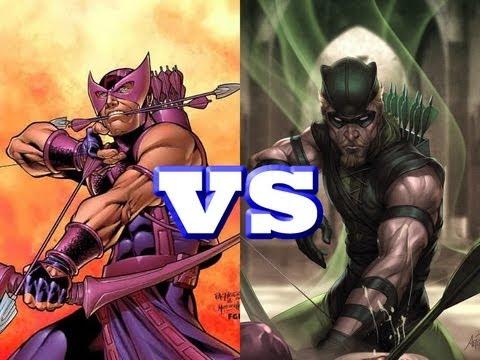 Twitter Poll: Green Arrow vs. Hawkeye Who Wins?