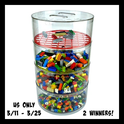 Blokpod Lego Sorter and Storage Giveaway Ends 3/25 Good Luck from Tom's Take On Things