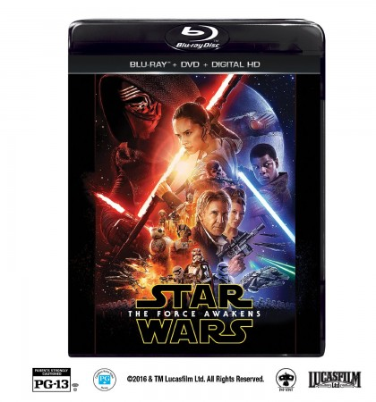 April 5th Bring Home Star Wars: The Force Awakens