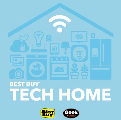 Best Buy Tech Home at the Mall of America, wish I could go!