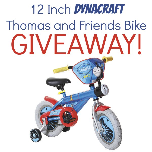 "Win a Dynacraft Thomas the Tank Engine Boys' 12"" Bike"