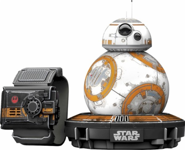 Sphero - Special Edition BB-8™ App-Enabled Droid™ with Force Band™ available to see at the Best Buy Holiday Shopping Event