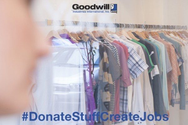 Donate to Goodwill to help Veterans and Single Moms get jobs