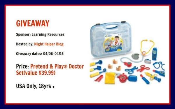 Pretend & Play Doctor Set Giveaway