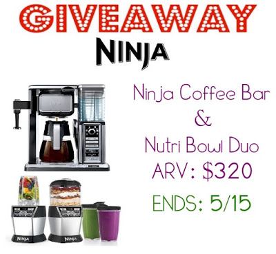 Ninja Coffee Bar System Giveaway - Stunning Prize Ends 5/15