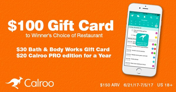 $100 Restaurant Gift Card and More Giveaway Ends 7/5