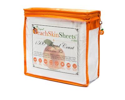 PeachSkinSheets Sheet Set Giveaway Ends 8/15