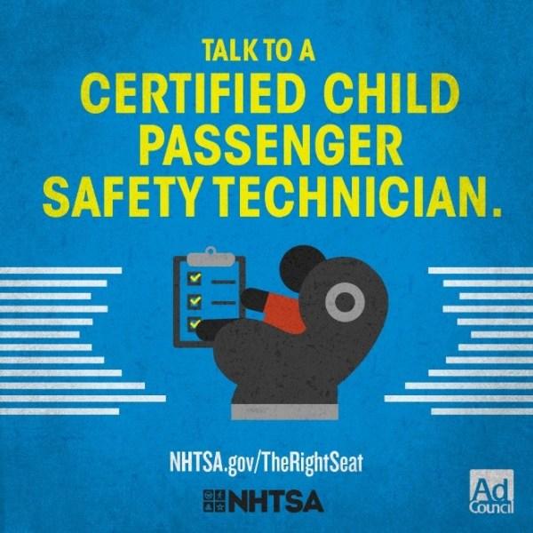 Child Passenger Safety Week September 17-23, 2017