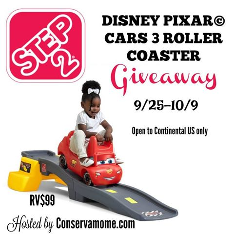 Step2 Cars 3 Roller Coaster Giveaway Ends 10/9