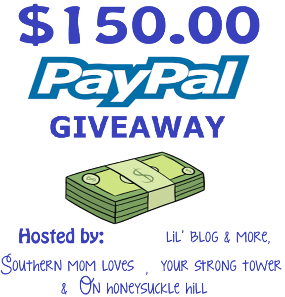 $150 PayPal giveaway event ~ What would you buy? Ends 9/30