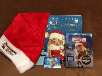 MARIAH CAREY'S ALL I WANT FOR CHRISTMAS IS YOU GIVEAWAY Ends 11/21