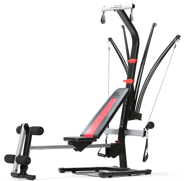 Help keep your resolutions strong with the Bowflex PR1000 Home Gym